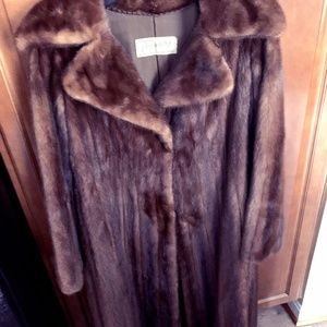 Jackets & Blazers - Full length Lumaraine Mink Coat
